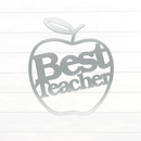 Best Teacher Apple SIgn