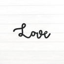 Cursive Love Sign - Metal Unlimited