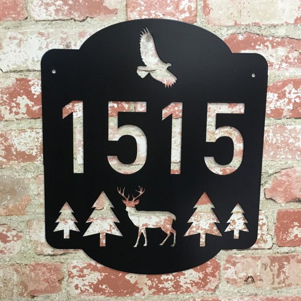 Wilderness Address Sign