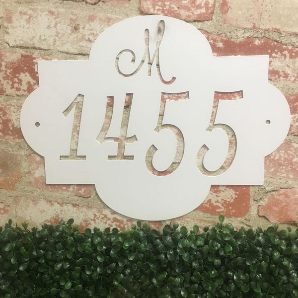 Initial Address Sign