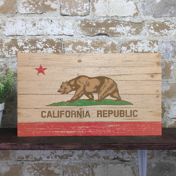 Rustic State Flag Pallet
