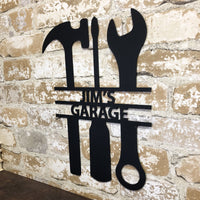 The Garage Sign