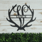 Antler Monogram Sign