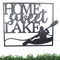 Home Sweet Lake Sign