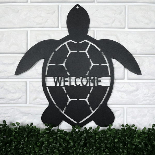 Personalized Turtle Sign