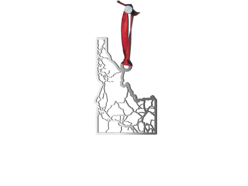 Idaho Ornament - Cool Cut Map Gift