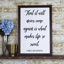 Cursive Quote Farmhouse Print