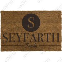 Classic Family Name Doormat