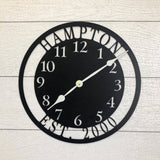 Personalized Metal Clock