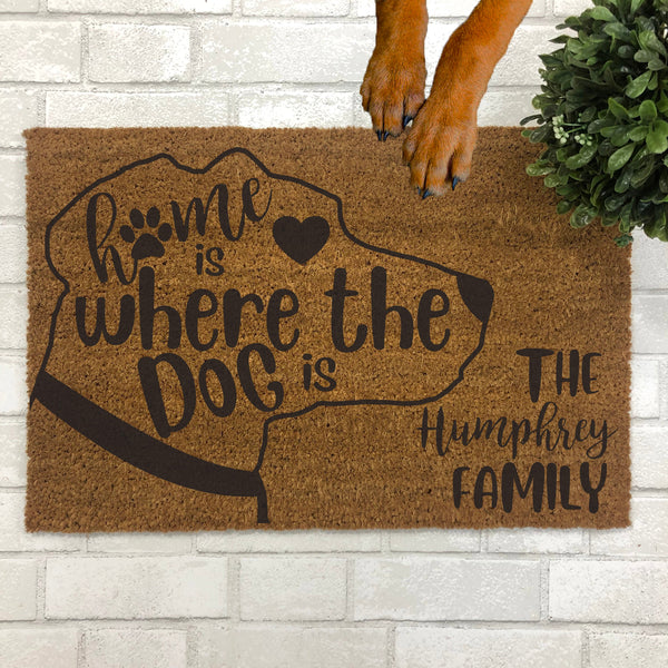 Home is Where the Dog is Doormat