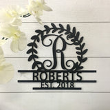 Personalized Crest Sign