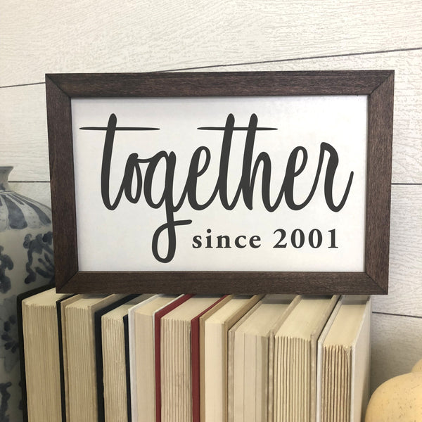 "Simple ""Together"" Farmhouse Print"