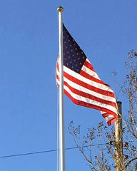 30ft Fiberglass Flag Pole