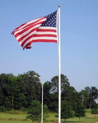 35ft Fiberglass Flag Pole
