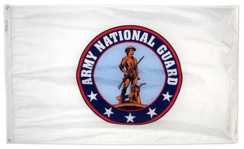 Nylon Army National Guard Flag