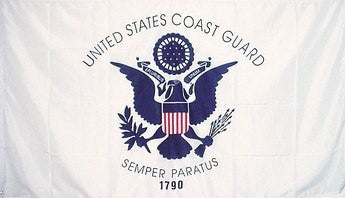 Nylon Coast Guard Flag