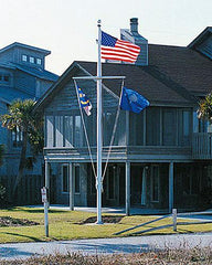 40ft Nautical Aluminum Flagpole