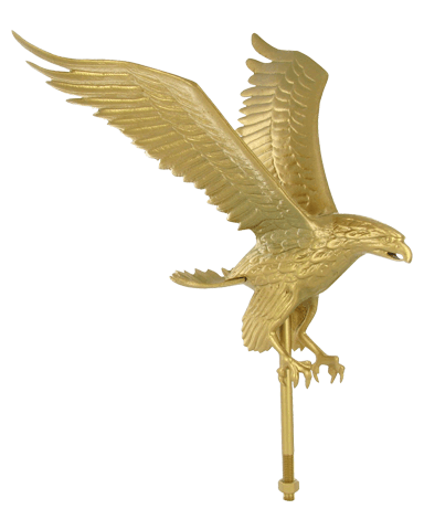 Aluminum Gold Eagle