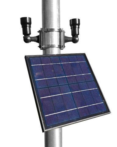 Dual Commercial Solar Flag Light