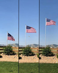 25' Heavy Duty Telescoping Flagpole