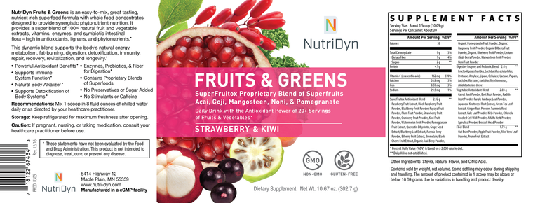 Dynamic Fruits & Greens