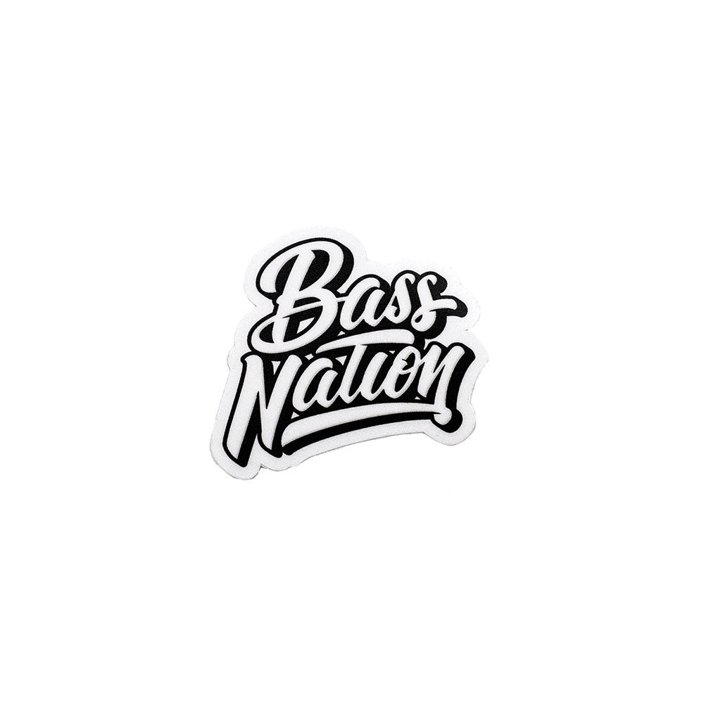 Bass Nation Sticker