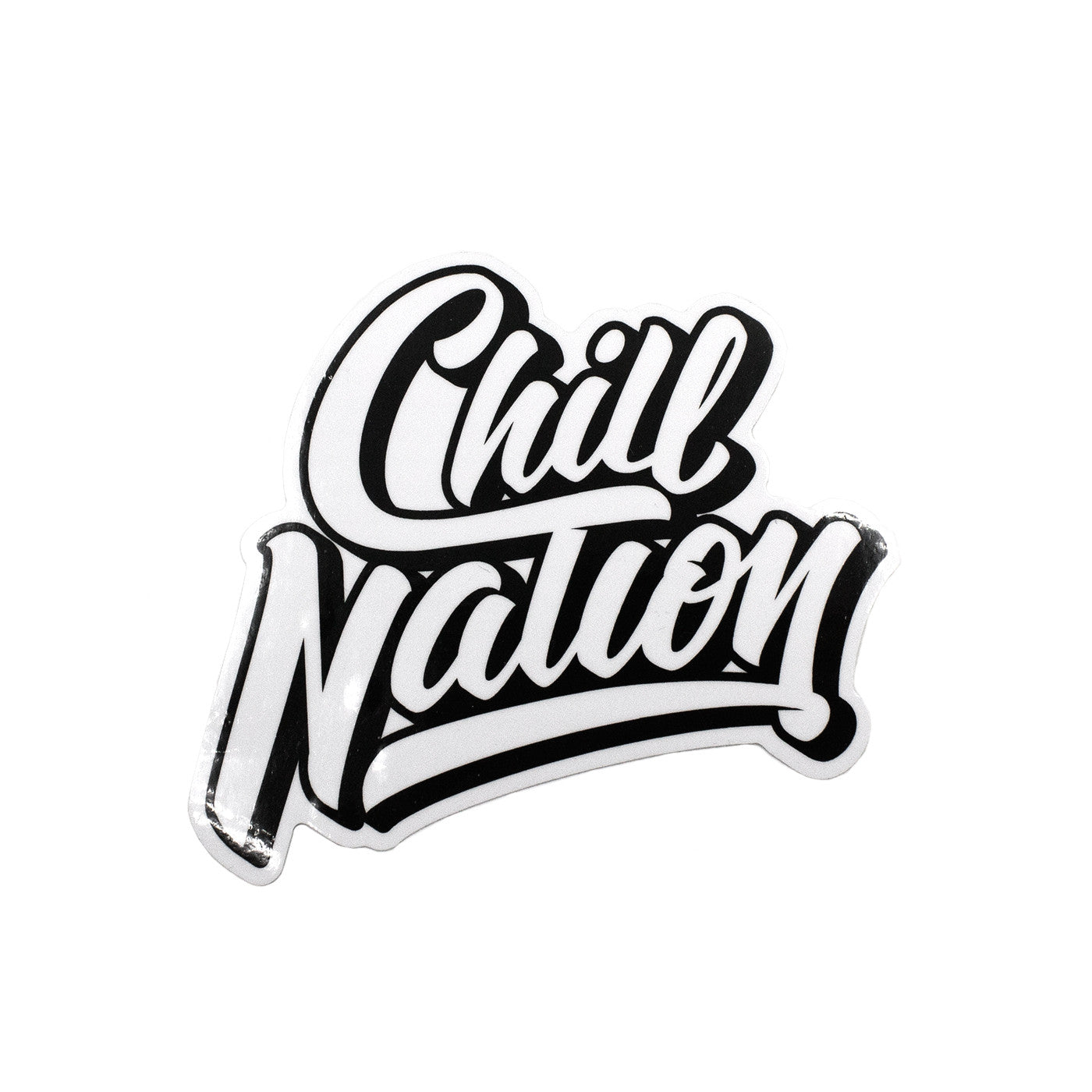 chill nation sticker � the nations