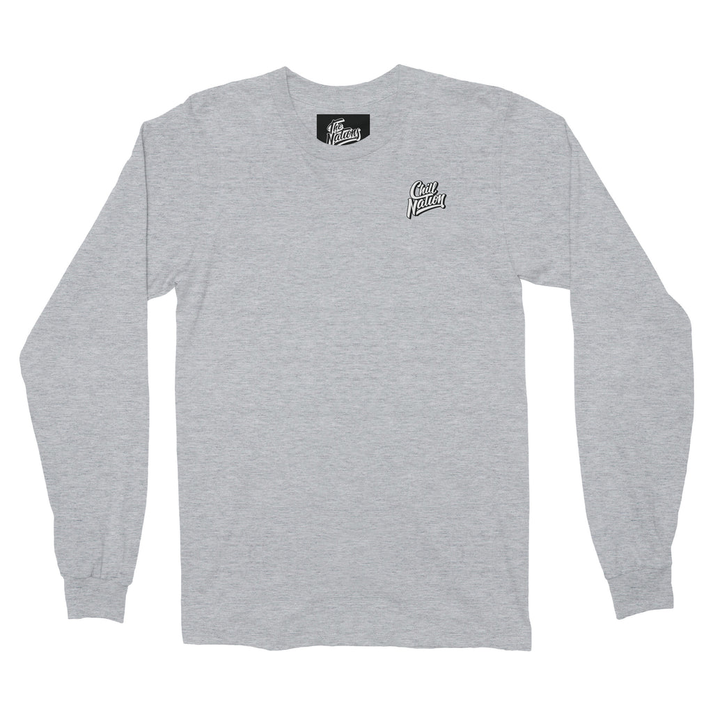 Chill Nation Long Sleeve / Grey