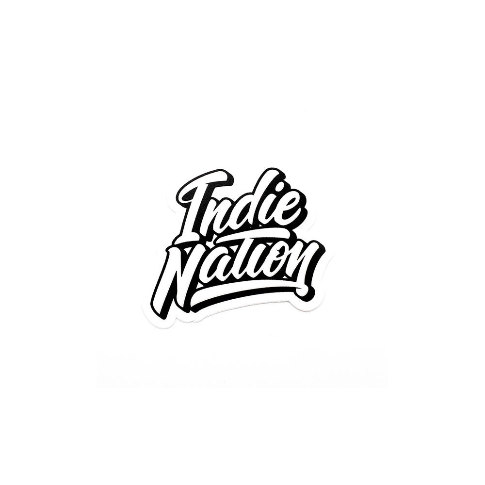 Indie Nation Sticker