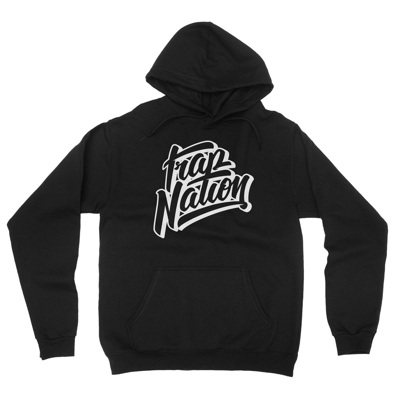 Trap Nation Hoodie / Black