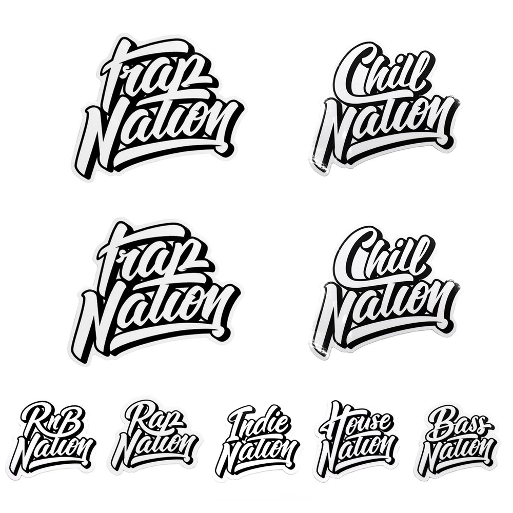 Nations Sticker Pack