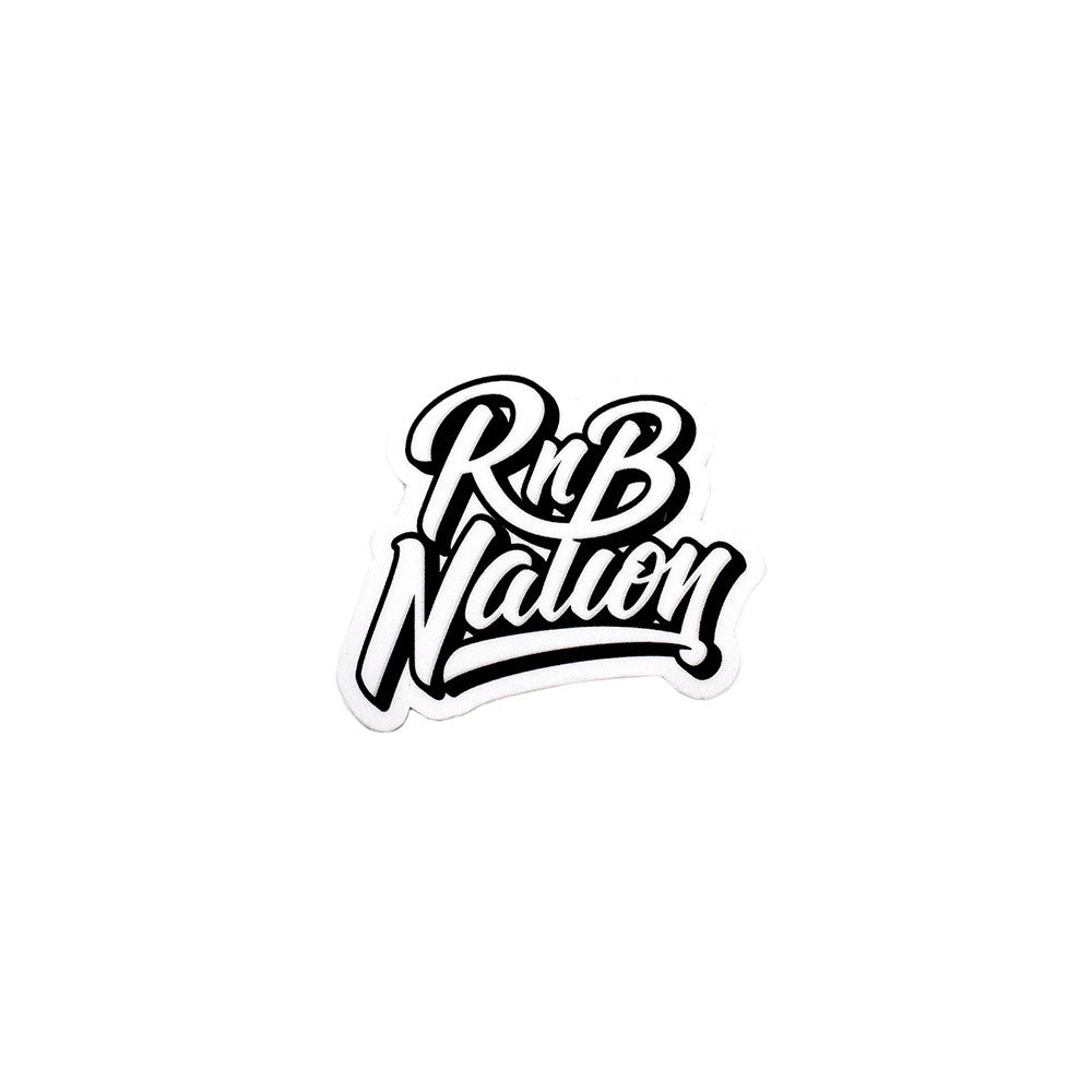 RnB Nation Sticker