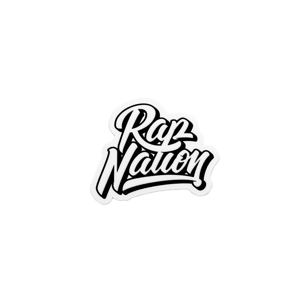 Rap Nation Sticker