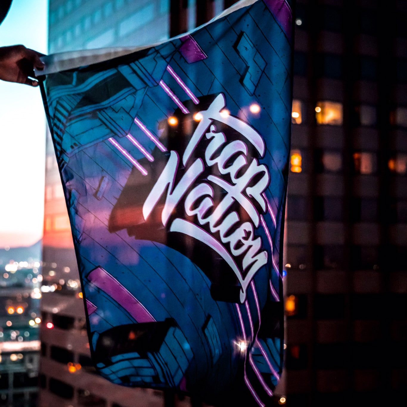 LTD Trap Nation Flag