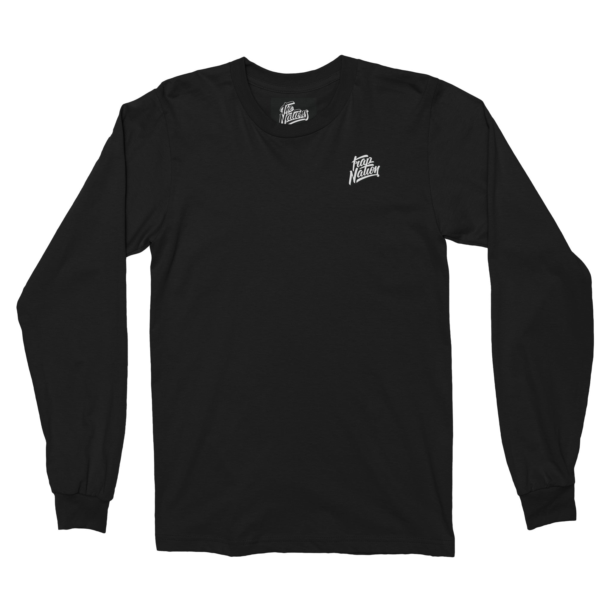 Trap Nation Long Sleeve / Black