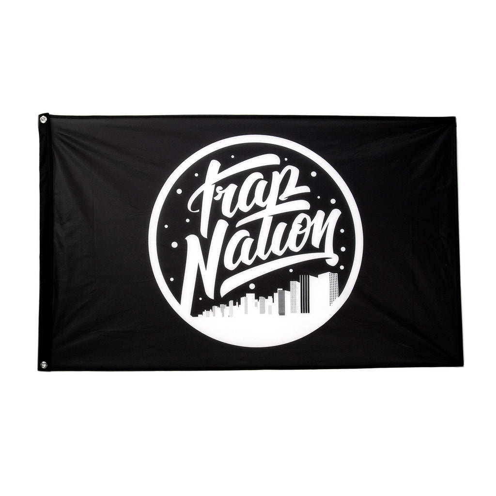 Trap Nation Flag / Black