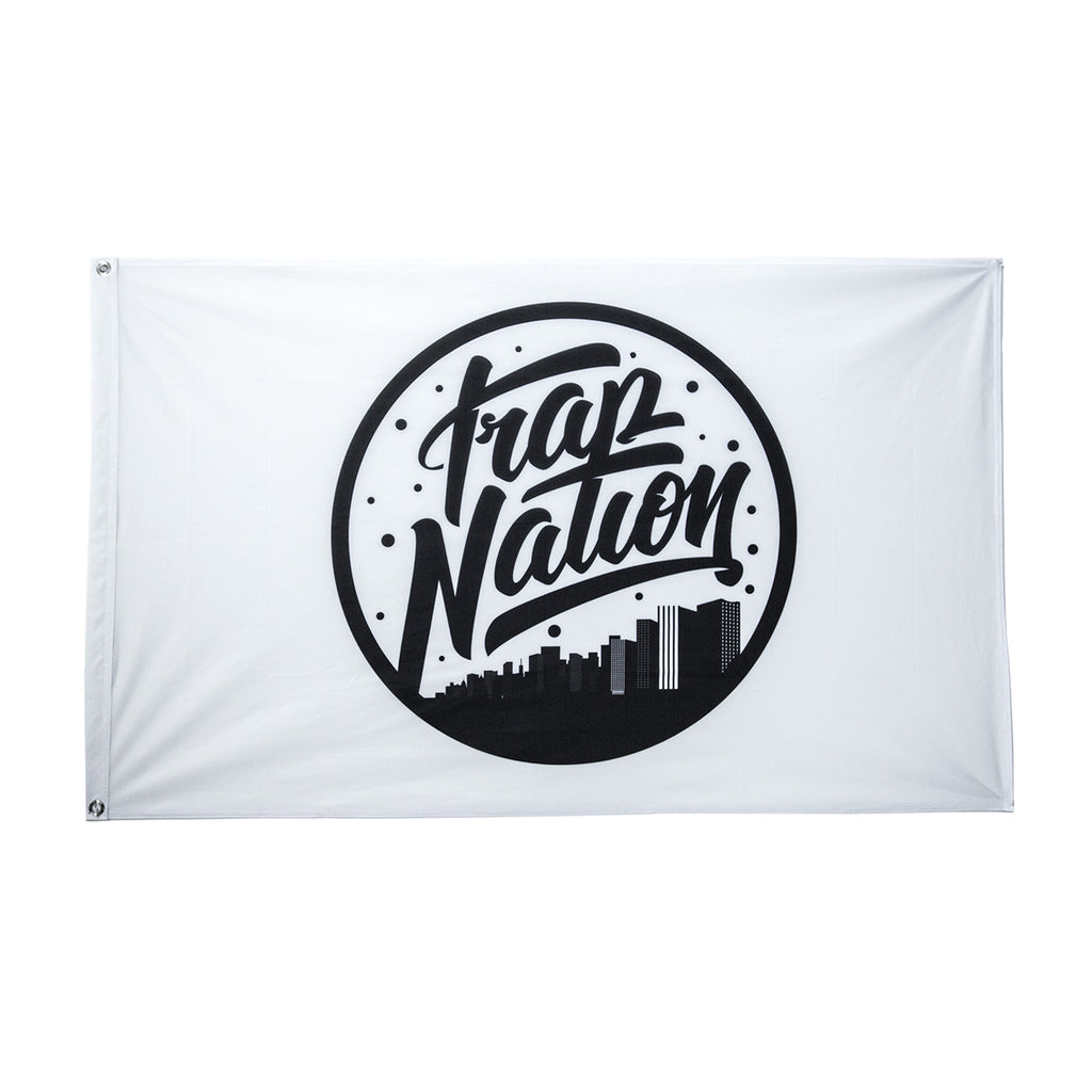 Trap Nation Flag / White