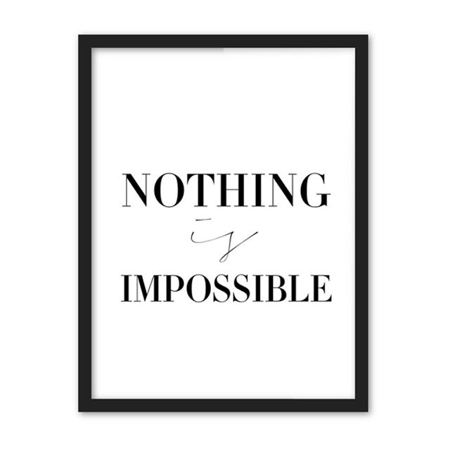 Quote Nothing Impossible