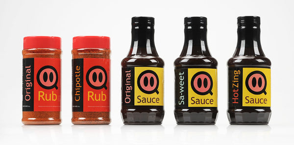 Full-Line Pack: 3 Sauces and 2 Rubs