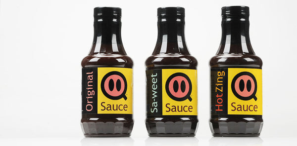 Q Sauces All Flavors Gift Pack: 3 Sauces