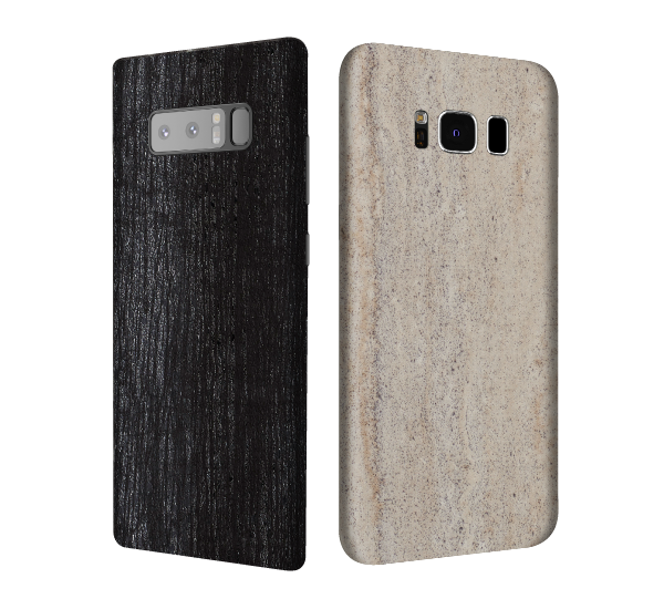 samsung galaxy marble skins and concrete skins