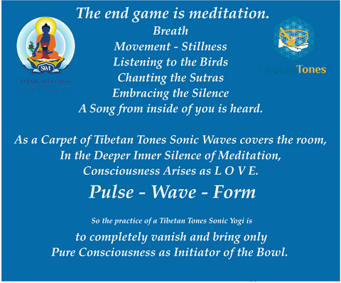 Tibetan Buddhist Meditation in Sonic Wellness
