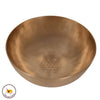 Tibetan Singing Bowl med. deep resonator 942/flower of life