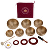 CHAKRA Set 7 pre tuned Tibetan Tones Singing Bowls. 9511   $1331.54