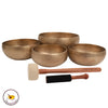 Singing Bowls Sound Yoga 4 piece set  Sonic WaveSeries  by Tibetan Tones® free shipping