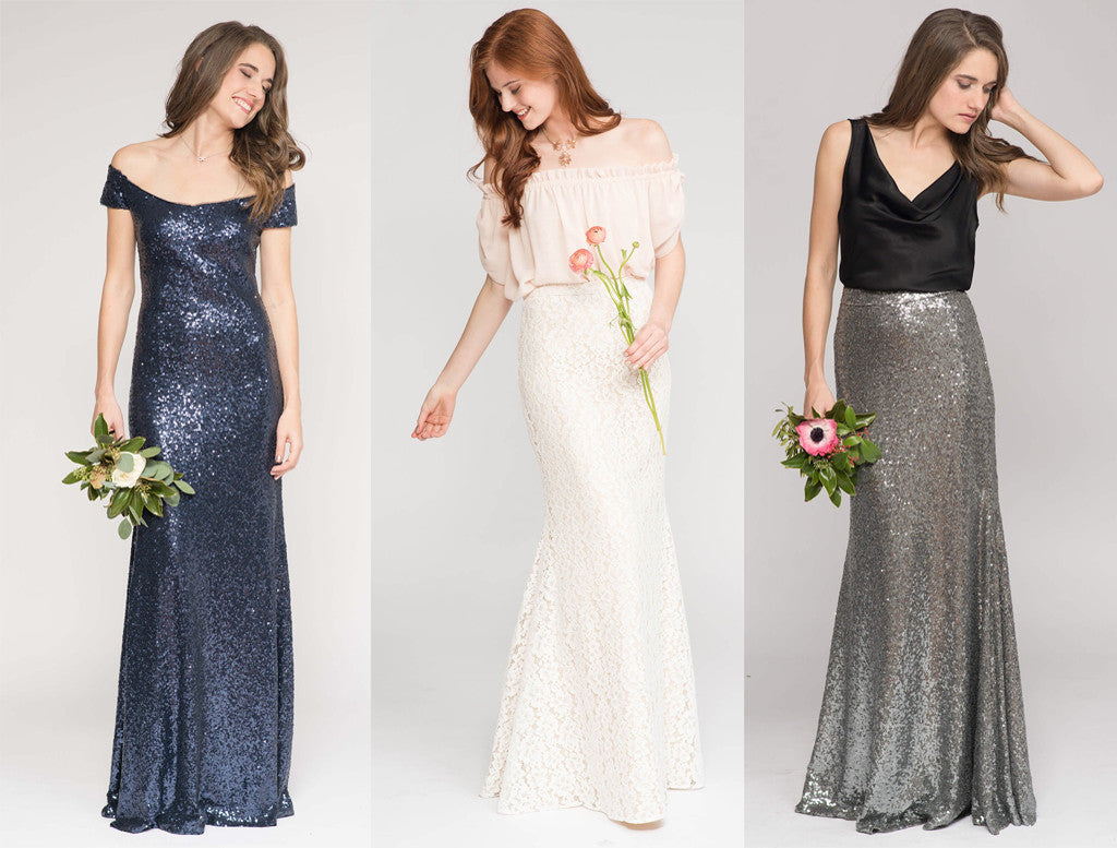 2017 Bridesmaid Trends - Fit & Flare