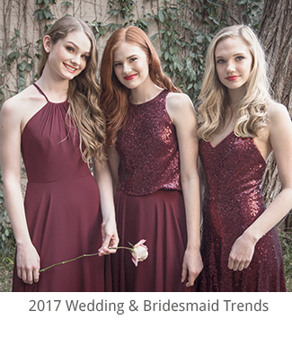 2017 Wedding and Bridesmaid Trends