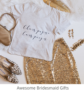 Awesome Bridesmaid Gifts