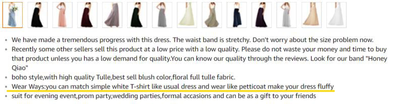 Counterfeit Dresses