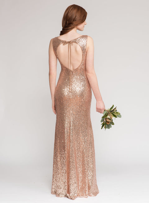 Rose Gold Sequin